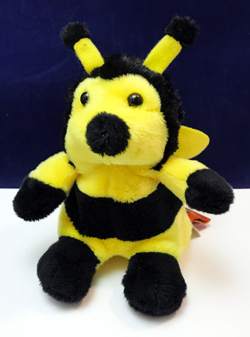 Plush honey bee toy
