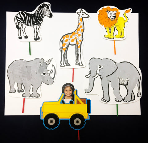 Ivy Kids kit - Let's Explore...Safari
