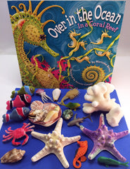 Coral reef themed Fun and educational activities and games for kids