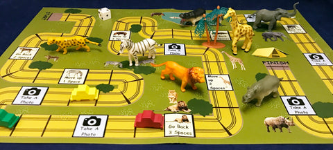 Going on a safari board game