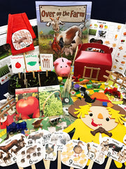 STEAM activities inspired by the children's book Over on the Farm