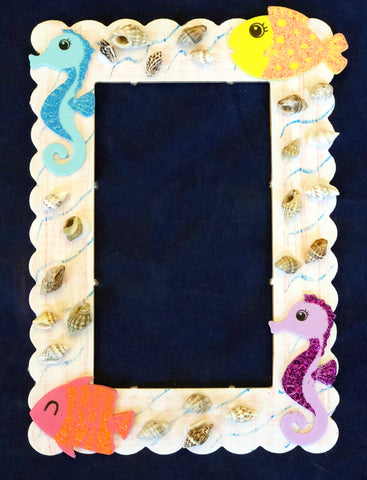 Under the Sea Photo Frame Craft