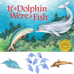 Dolphin book and dolphin themed STEM activities for kids