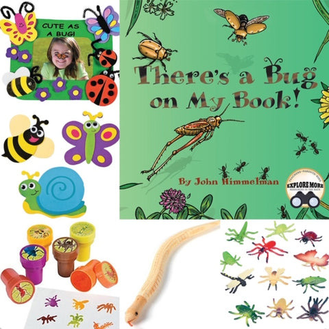 Bug themed activities for Kids