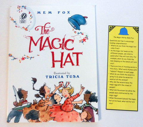 The Magic Hat - by Tricia Tusa and accompaning bookmark