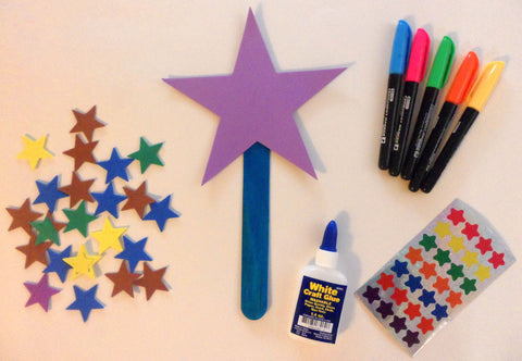 The Magic Hat - decorating wand