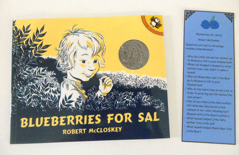 Blueberries For Sal by Robert McCloskey - Ivy Kids subscription box activities.