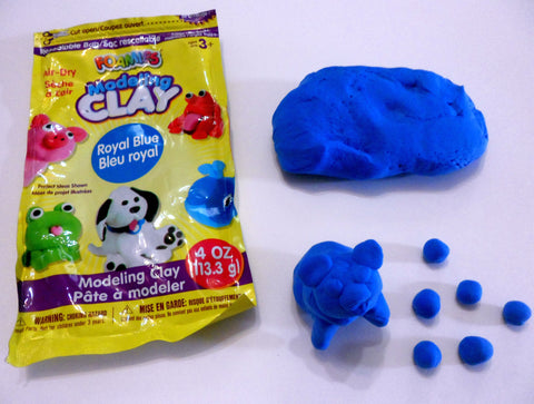 Clay art - Blueberries For Sal by Robert McCloskey - Ivy Kids subscription box activities.