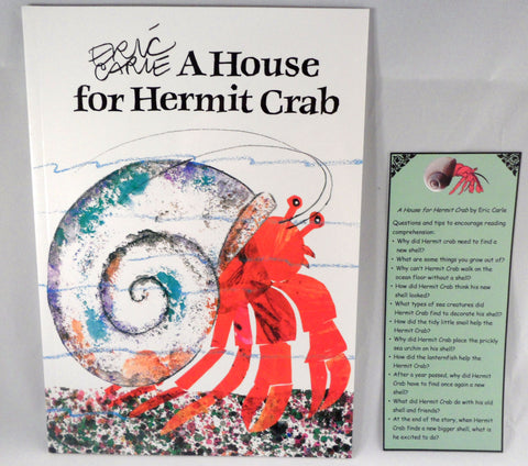 A House for Hermit Crab by Eric Carle - Ivy Kids subscription box activities.