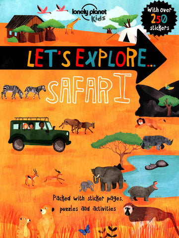 Let's Explore Safari Lonely Planet