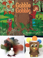 Thanksgiving book, turkey art projects crafts learning activities