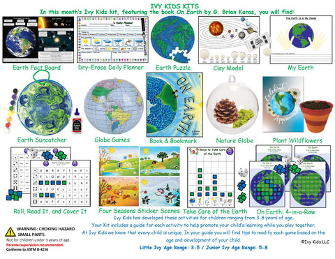 Earth STEM activities for kids