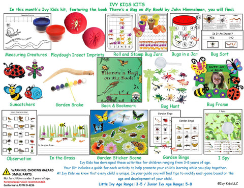 Bug and Insect themed activities for kids spring time STEM