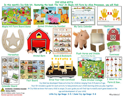 Ivy Kids Kit - The Year at Maple Hill Farm