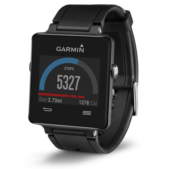 GARMIN VivoActive GPS Smart Watch with Sports Apps - Black (Used-Like New-Boxed)