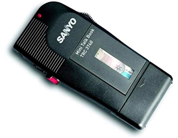 SANYO TRC-3740 MiniCassette Voice Recorder (Used-Like New)