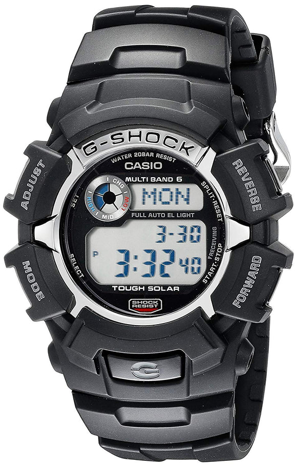 CASIO Men's GW2310-1 G-Shock Solar Atomic Digital Sports Watch - Black (New)