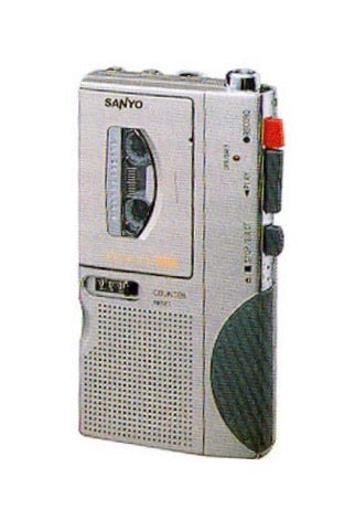 SANYO TRC-680M MicroCassette Voice Recorder (Used-Like New-Boxed)