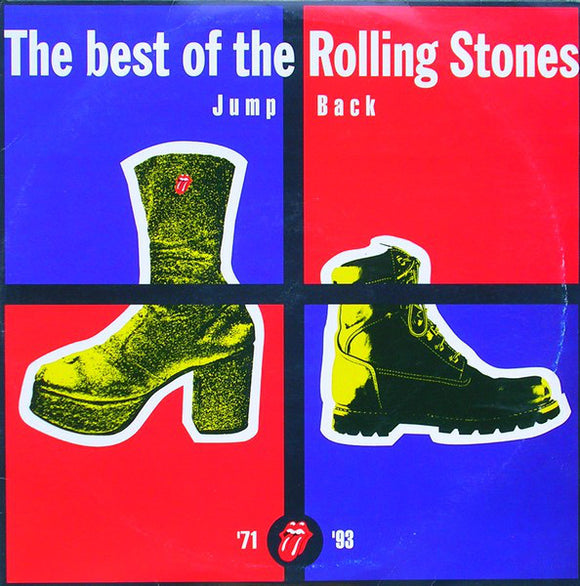 THE BEST OF THE ROLLING STONES - JUMP BACK. '71 - '93 - CD ALBUM - 1993