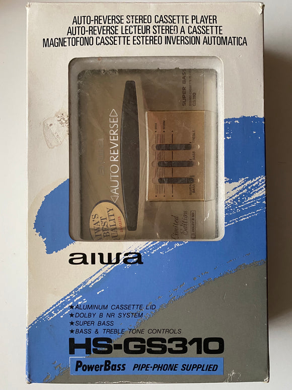AIWA HS-GS310 Stereo Cassette Player - Gold - Limited Edition (New-Other)