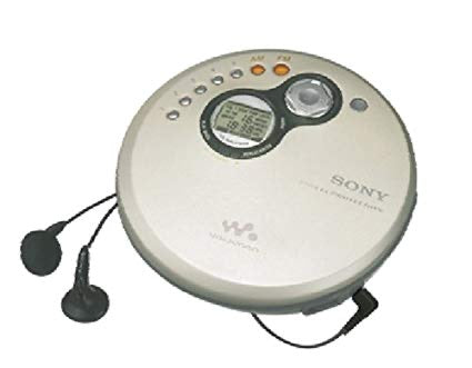 SONY D-FJ401 Walkman FM/AM Radio, Personal CD Player - Silver (Used-Like New-Boxed)