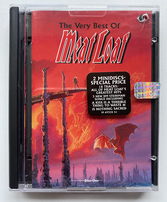 MEAT LOAF - THE VERY BEST OF MD - 2 SET MINIDISC ALBUM - 1998