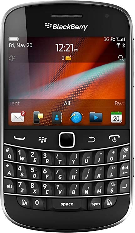 BLACKBERRY Bold 9900 Mobile Phone - Black. O2 Network (Used-Like New)