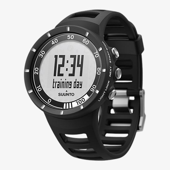 SUUNTO Quest High Performance Training Watch with HRM - Black (Used-Like New-Boxed)