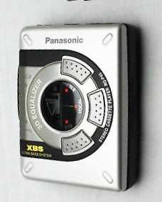 PANASONIC RQ-P45 Cassette Player - Silver (Used-Like New)