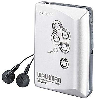 SONY WM-EX500 Walkman Cassette Player - Silver (Used-Like New-Boxed)