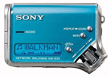 SONY NW-E55 Mini Network Walkman Digital Media Player - Ice Blue (Used-Like New)