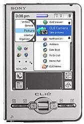 SONY Clie PEG-TJ35 Handheld Pocket PC PDA  (Used-VGC-Boxed)