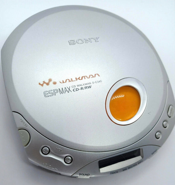 SONY D-E340C Walkman CD Player - Silver (Used-VGC)