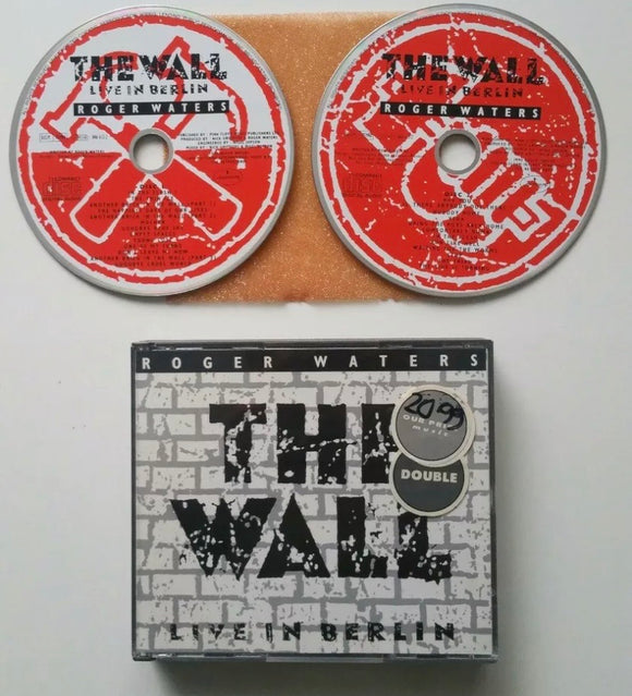 Roger Waters: The Wall - Live in Berlin(1990) 2x CD Double Album (FatBox)