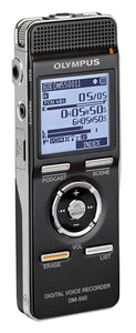 OLYMPUS DM-550 Digital Voice Recorder. 4GB (Used-Like New)