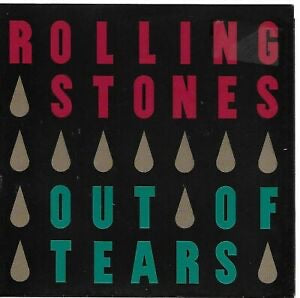 THE ROLLING STONES - OUT OF TEARS - CD ALBUM - 1994