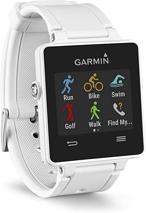 GARMIN VivoActive GPS Smart Watch with Sports Apps - White (Used-Like New-Boxed)