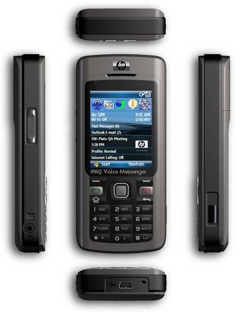 HP iPAQ 514 Voice Messenger Mobile Phone PDA  (Used-VGC)