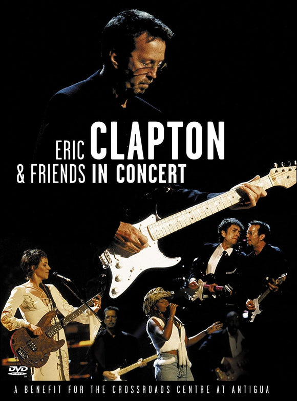 ERIC CLAPTON & FRIENDS IN CONCERT - NEW YORK CONCERT DVD - 1999