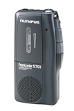 OLYMPUS PearlCorder S701 Microcassette Voice Recorder - Black (Used-Like New)