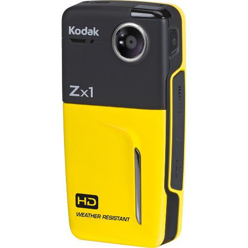 KODAK Zx1 High Definition Pocket Video Camera - Yellow (Used-Like New-Boxed)