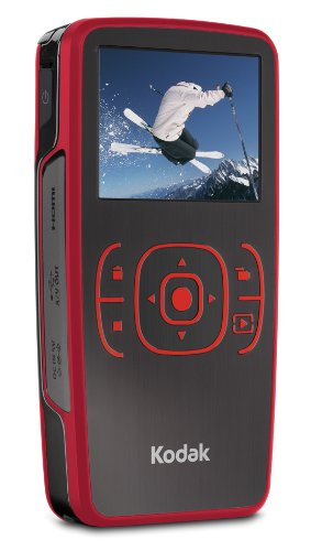 KODAK Zx1 High Definition Pocket Video Camera - Red (Used-VGC)