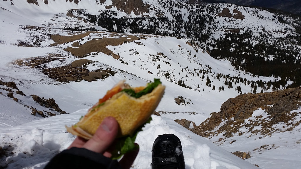 Lunch Atop Berthoud