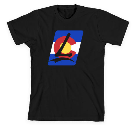 Launch Colorado Tee Black
