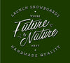 Future Meets Nature Tee Forest Detail