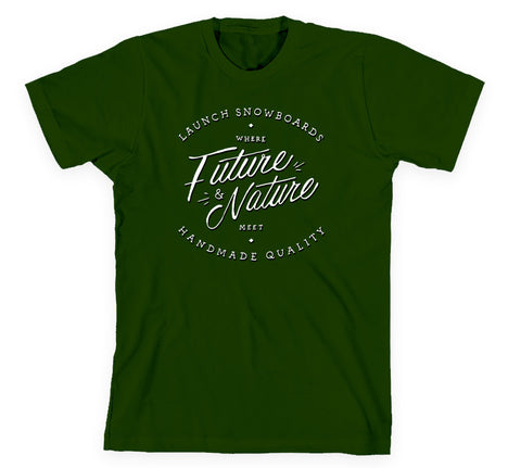 Future Meets Nature Tee Forest