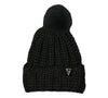 Launch PomPom Beanie Black Main