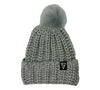 Launch PomPom Beanie Grey Main