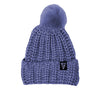 Launch PomPom Beanie Plum Main