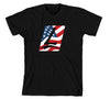 Launch USA Tee Black